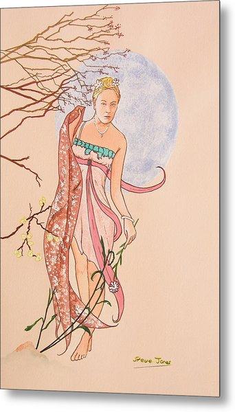Art Nouveau Metal Print by Steve Jones