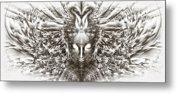 Ascended Grace Metal Print