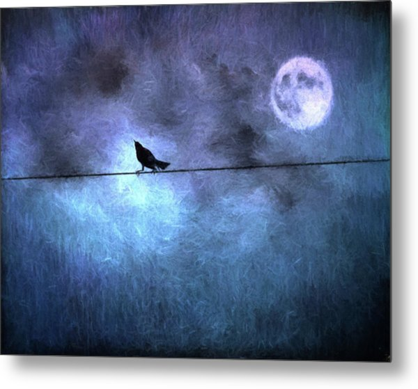Ask Me For The Moon Metal Print