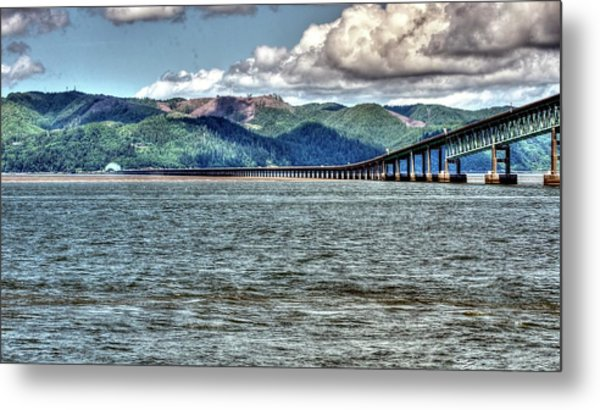 Astoria Bridge Metal Print