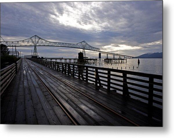 Astoria-megler Bridge 4 Metal Print