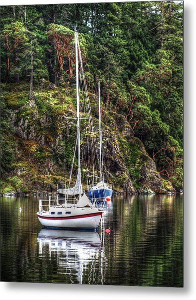 At Anchor Metal Print