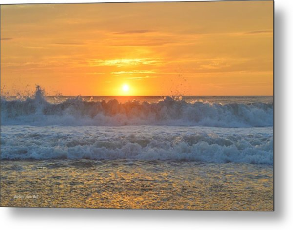 August Sunrise   Metal Print