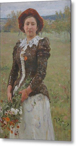 Autumn Bouquet Metal Print by Ilya Repin