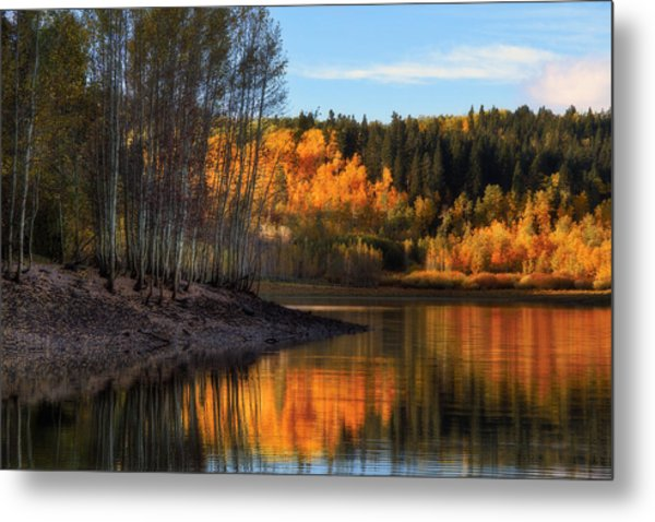 Autumn In The Wasatch Mountains Metal Print