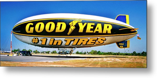 My Goodyear Blimp Ride Metal Print