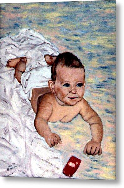 Baby In Heaven Metal Print by Stan Hamilton