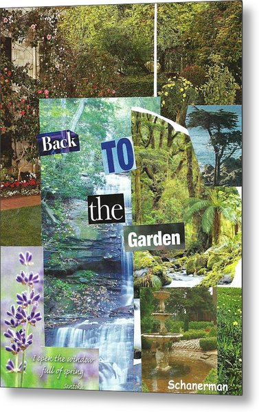 Back To The Garden Metal Print