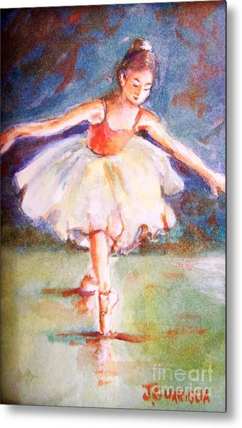 Ballerina 1 Metal Print by Joyce A Guariglia