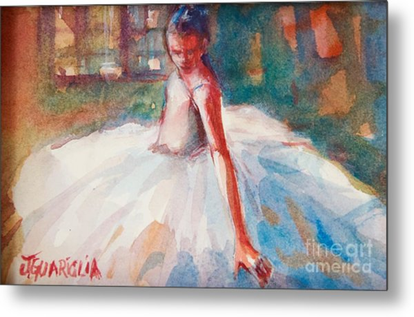 Ballerina 2 Metal Print by Joyce A Guariglia
