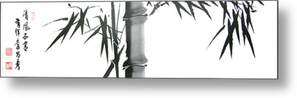 Bamboo Metal Print by Chang  Lee