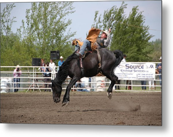 Bareback Metal Print by Marj Beach