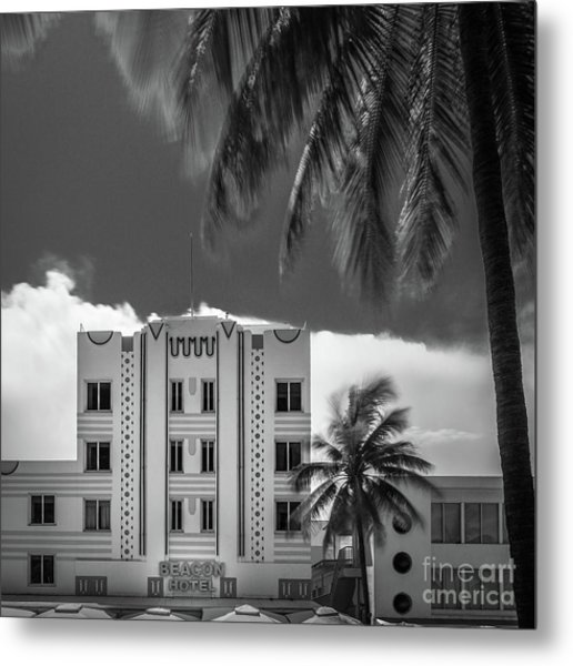 Beacon Hotel Miami Metal Print
