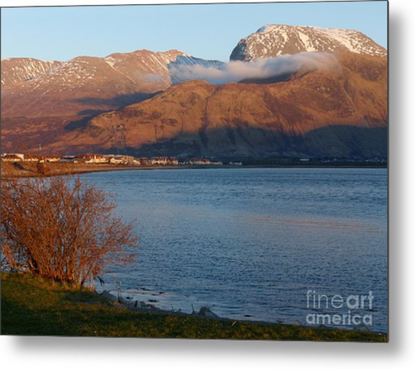 Ben Nevis From Corpach Metal Print by Phil Banks
