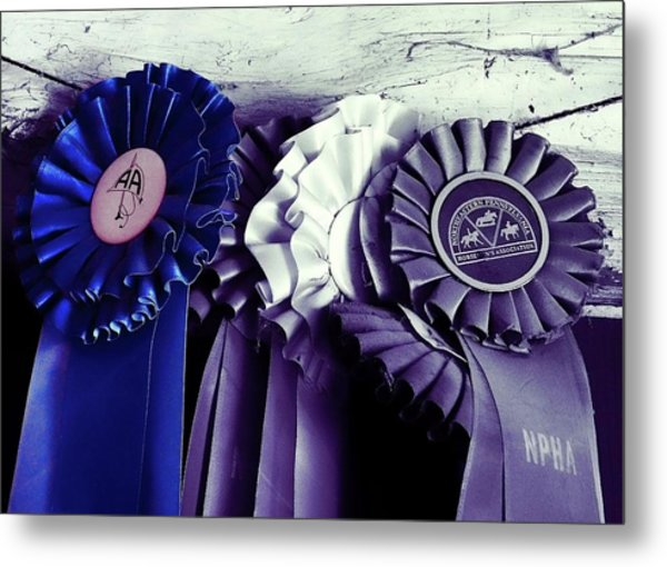 Best In Show Blue Metal Print by JAMART Photography