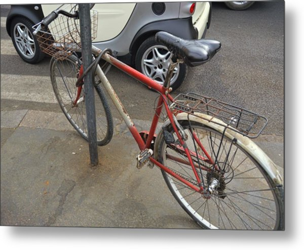 Bicicletta Metal Print by JAMART Photography