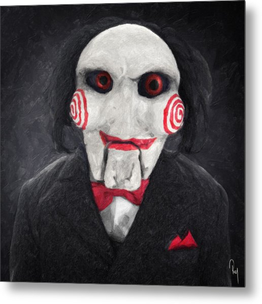 Billy The Puppet Metal Print