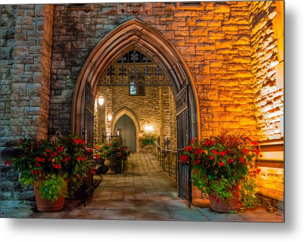 Blink Cincinnati - Covenant First Presbyterian Church Metal Print