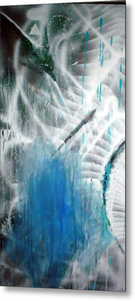 Blue Metal Print by Leigh Odom