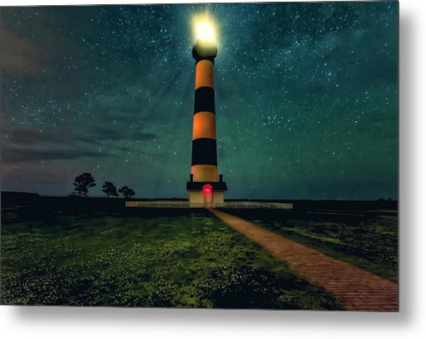 Bodie Island Night Metal Print