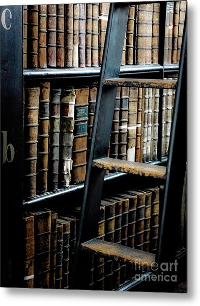 Books Of Knowledge 7 Metal Print