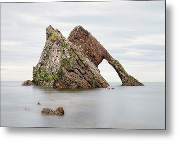 Bow Fiddle Rock - Scotland Metal Print