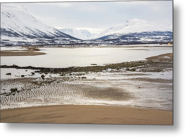 Breivik Nature Reserve Troms Norway Metal Print