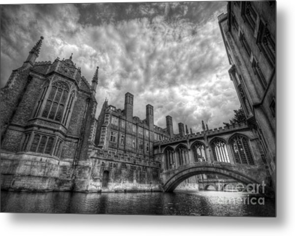 Bridge Of Sighs - Cambridge Metal Print