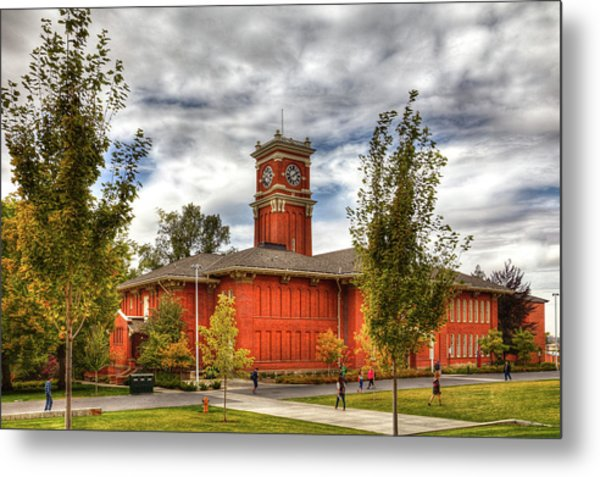 Bryan Hall On The Wsu Campus Metal Print