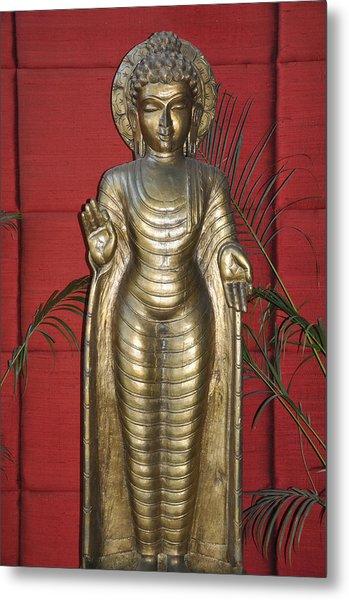 Buddha 1 Metal Print by Vijay Sharon Govender
