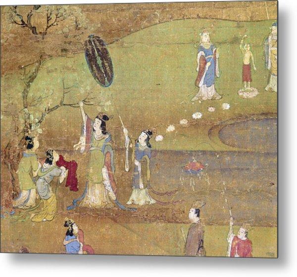 Buddha: Birth Metal Print