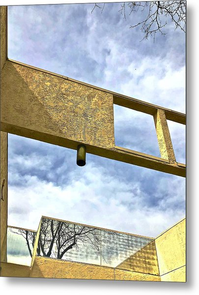 Building Metal Print by Gillis Cone