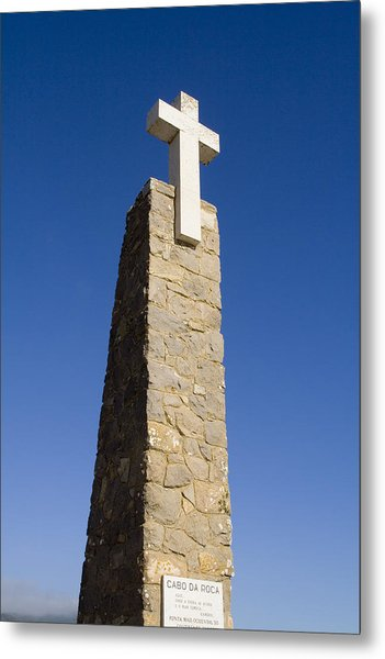 Cabo Da Roca Metal Print by Andre Goncalves