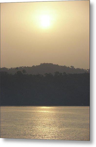 Cameroon Sunrise Africa Metal Print