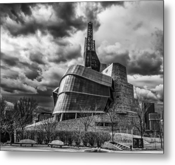 Canadian Museum For Human Rights Metal Print