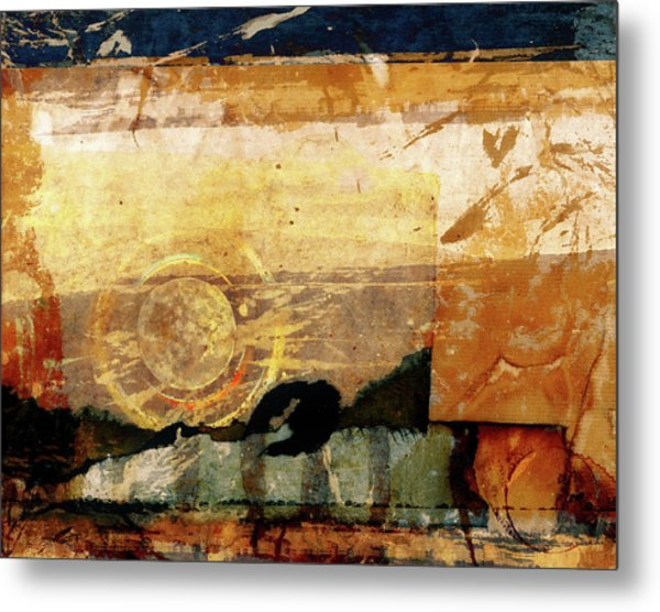 Canyon Walls Metal Print