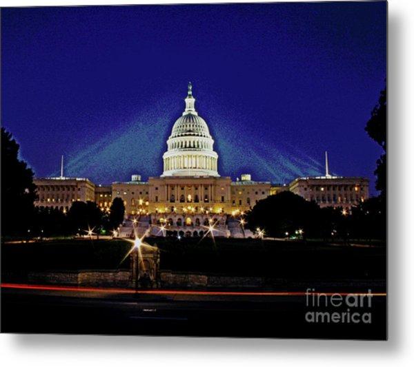Capitol Brights Metal Print