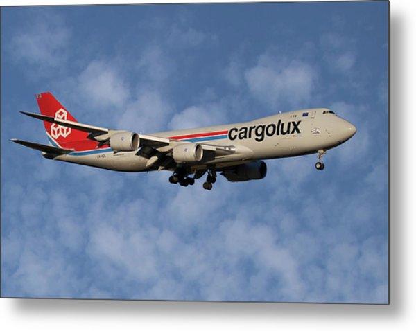Cargolux Boeing 747-8r7 1 Metal Print