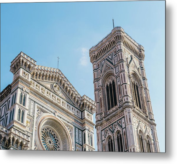 Cattedrale Di Santa Maria Del Fiore Is The Main Church Of Floren Metal Print