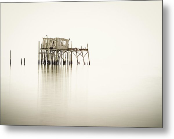 Cedar Key Structure Metal Print