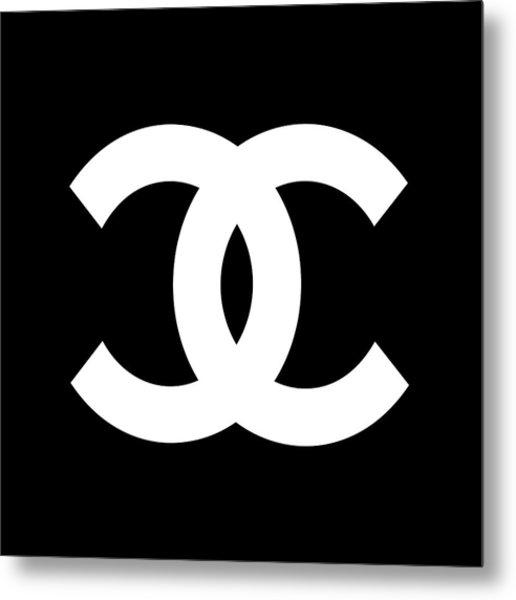 Chanel Symbol Metal Print