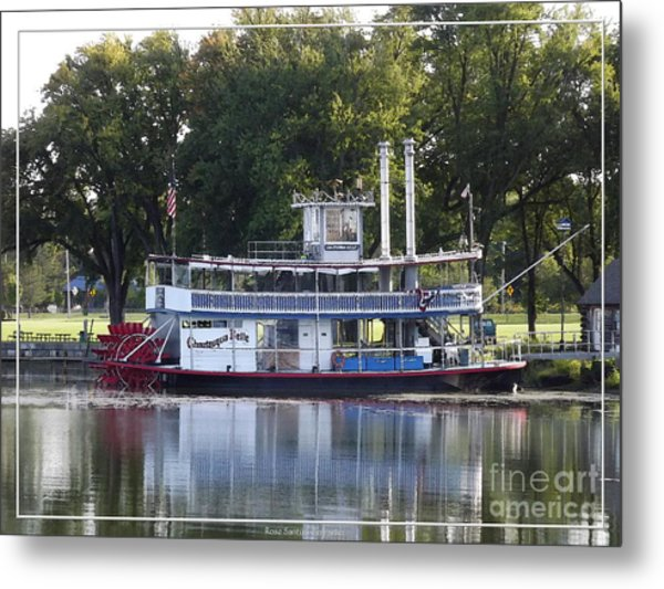 Chautauqua Belle On Lake Chautauqua Metal Print