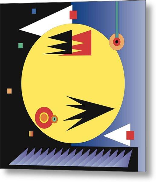 Choreographic Metal Print by James Maltese