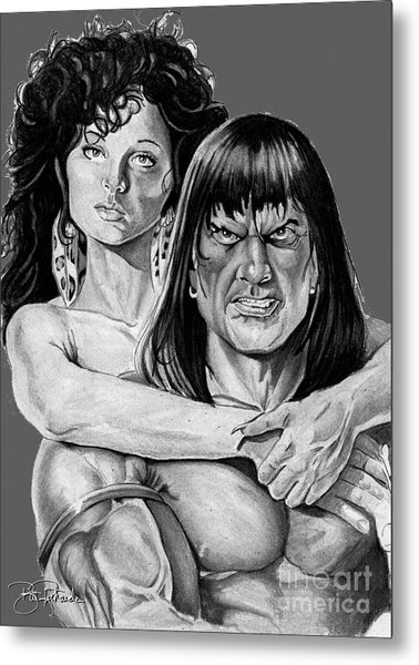 Conan Metal Print