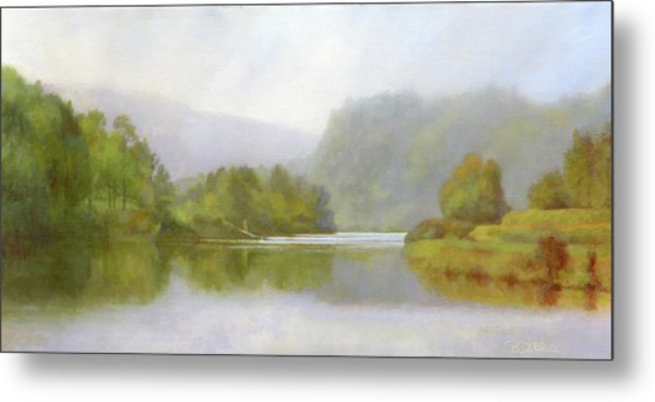 Connecticut River From River Road II Metal Print