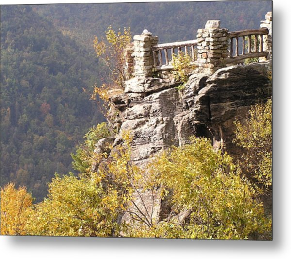 Cooper's Rock Overlook Metal Print