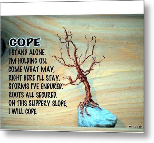 Cope Metal Print