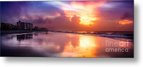 Crescent Beach September Morning Metal Print