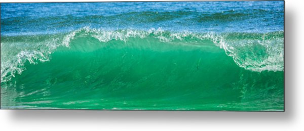 Cresting Wave Metal Print by Paula Porterfield-Izzo