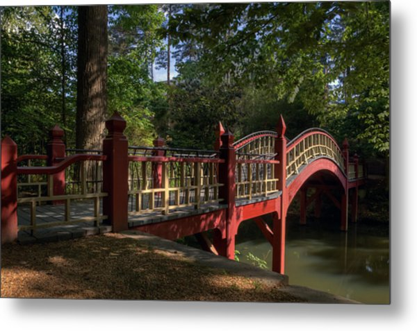 Crim Dell Bridge Metal Print